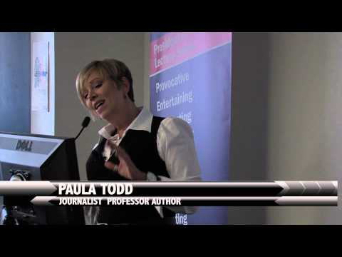 Paula Todd Educates Humber College About Cyber Bullying