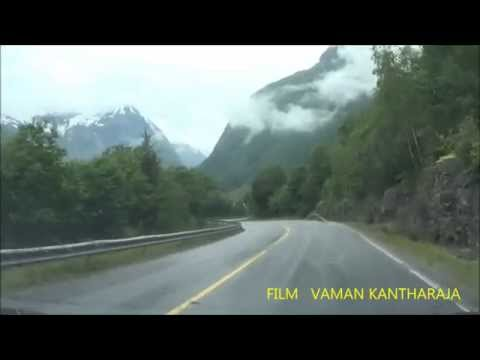 Stryn  Norway mountaion Road