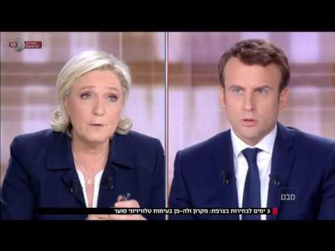 מבט - הדו-קרב האחרון בין הטוענים לכתר הנשיא הבא של צרפת