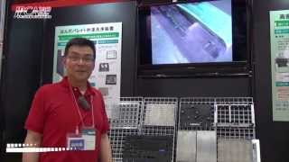 [JPCA Show 2013] はんだパレット秒速洗浄装置 「FLUX BUSTER」 - シイエムケイメカニクス株式会社