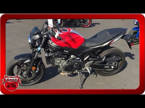 2017 Suzuki SV650 Motorcycle Review