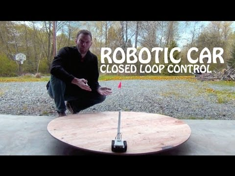 Robotic Car, Closed Loop Control Example