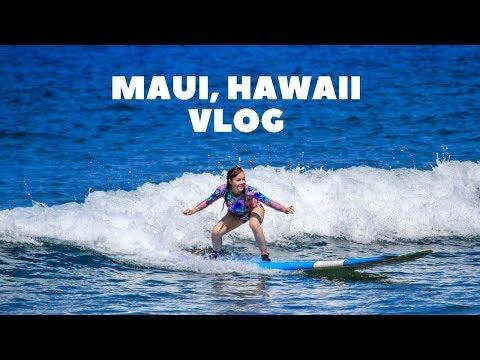 Maui, Hawaii Vlog | 2017 | AnnaMariaPDT