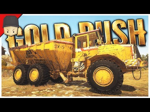 DUMP TRUCK & BULLDOZER! - Gold Rush: The Game - Ep.10