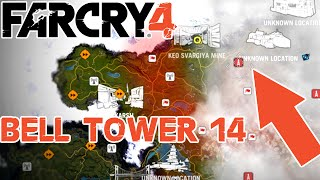 Bell Tower 14 - Door is Boarded Up, No Way In - Northern Kyrat - Far Cry 4