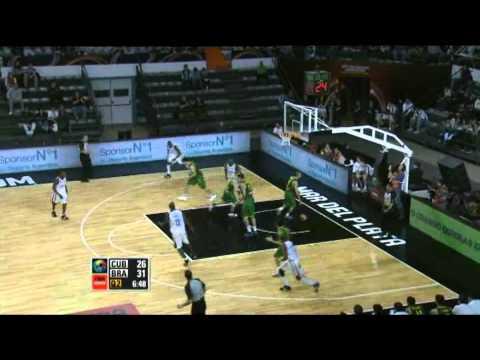 Cuba Vs. Brazil / 2011 FIBA Americas Championship Round 1