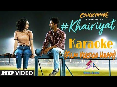 Download Lagu  Khairiyat Happy Short Karaoke With s, Chhichhore, Arijit Singh Mp3 Free