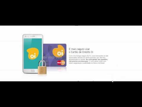 4256afcb1b Cartão de crédito OI Mastercard Gold Internacional,sem comprovar renda