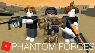 """[Part 1] ROBLOX PHANTOM FORCES ANIMATION MUSIC VIDEO """"THE WAR OVER BACON SKINS"""""""