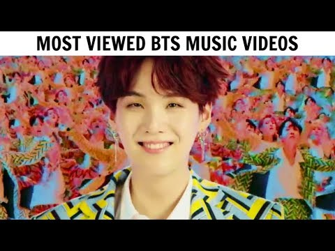 [TOP 30] Most Viewed BTS Music Videos | October 2018