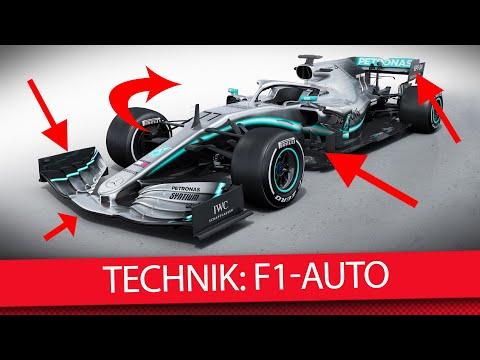 Erklärt: So funktioniert ein F1-Auto - Formel 1 2019 (Technik)