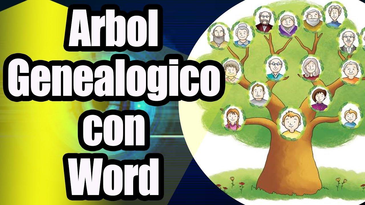 Como Hacer Un árbol Genealógico En Word Youtube