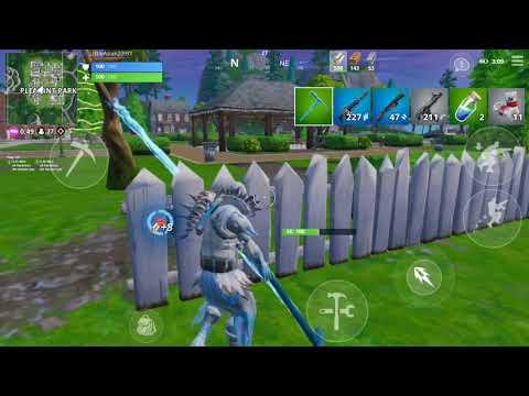 Fortnite Mobile Frozen Raven 9 Kill Game Play