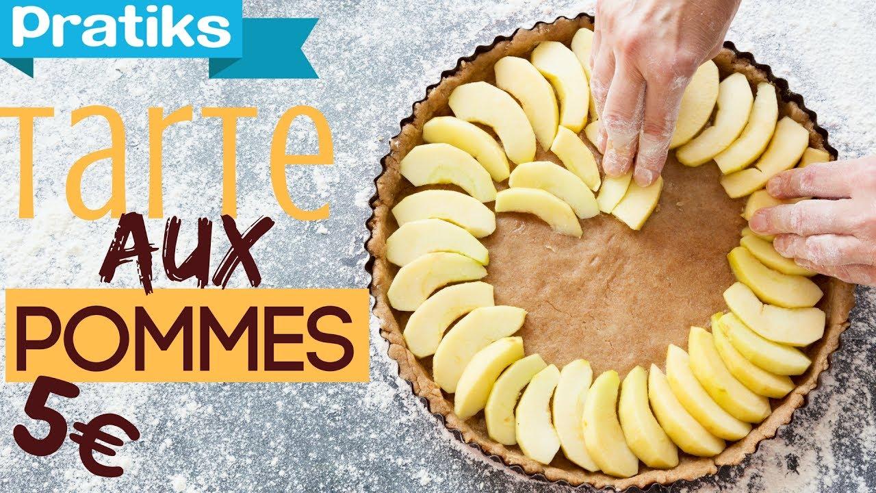 Comment faire une tarte aux pommes pour moins de 5 youtube - Comment couper des pommes pour une tarte ...