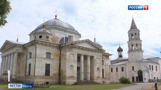 В Торжке восстанавливают один из самых древних монастырей в России