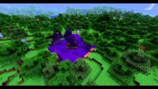 Minecraft Timelapse: Thaumcraft Tainted Vis Formation