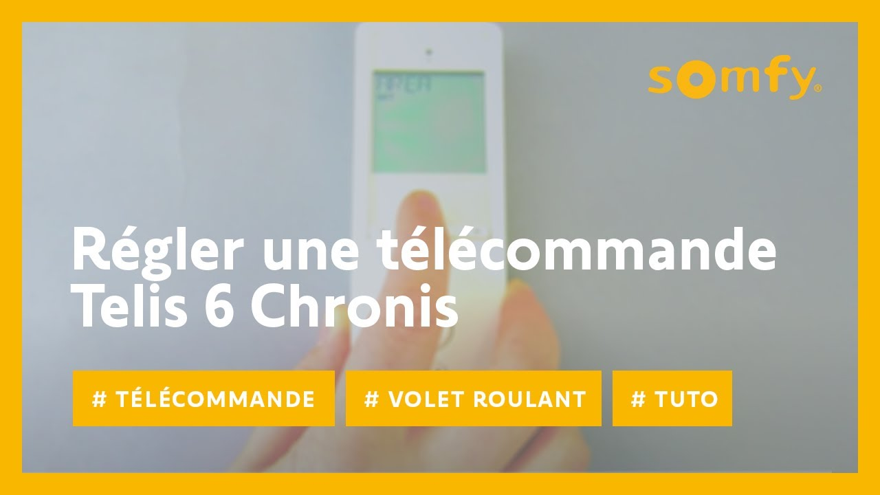 Programmation horaire volet roulant somfy - Programmation volet roulant somfy ...