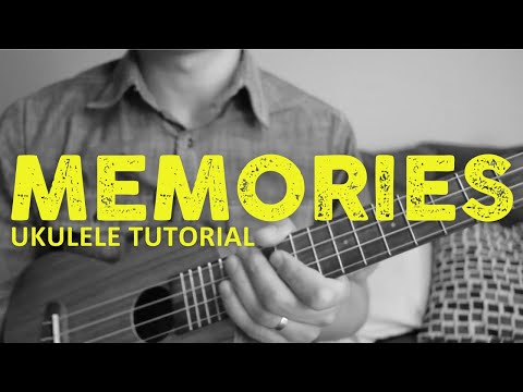 Maroon 5 - Memories (EASY Ukulele Tutorial) - Chords - How To Play