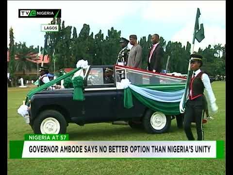 #Nigeria@57: We have no better option than Nigeria's unity -Ambode