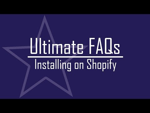 Ultimate FAQs - Installing and Creating a Page for FAQs on Shopify