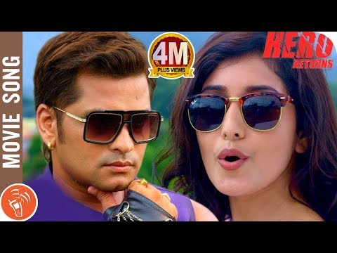 HERO RETURNS | New Nepali Movie Title Song 2018/2075 | Sabin Shrestha, Aanchal Sharma