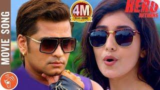 HERO RETURNS   New Nepali Movie Title Song 2018/2075   Sabin Shrestha, Aanchal Sharma