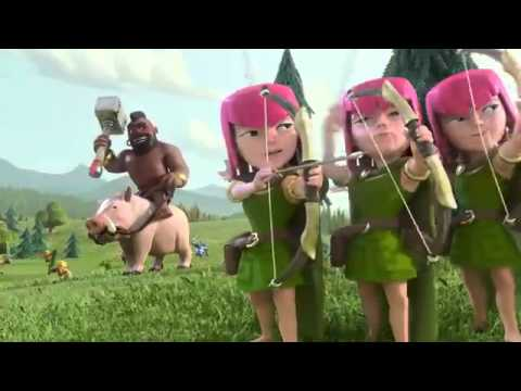 Video lucu Wall Breaker COC (clash of clans)