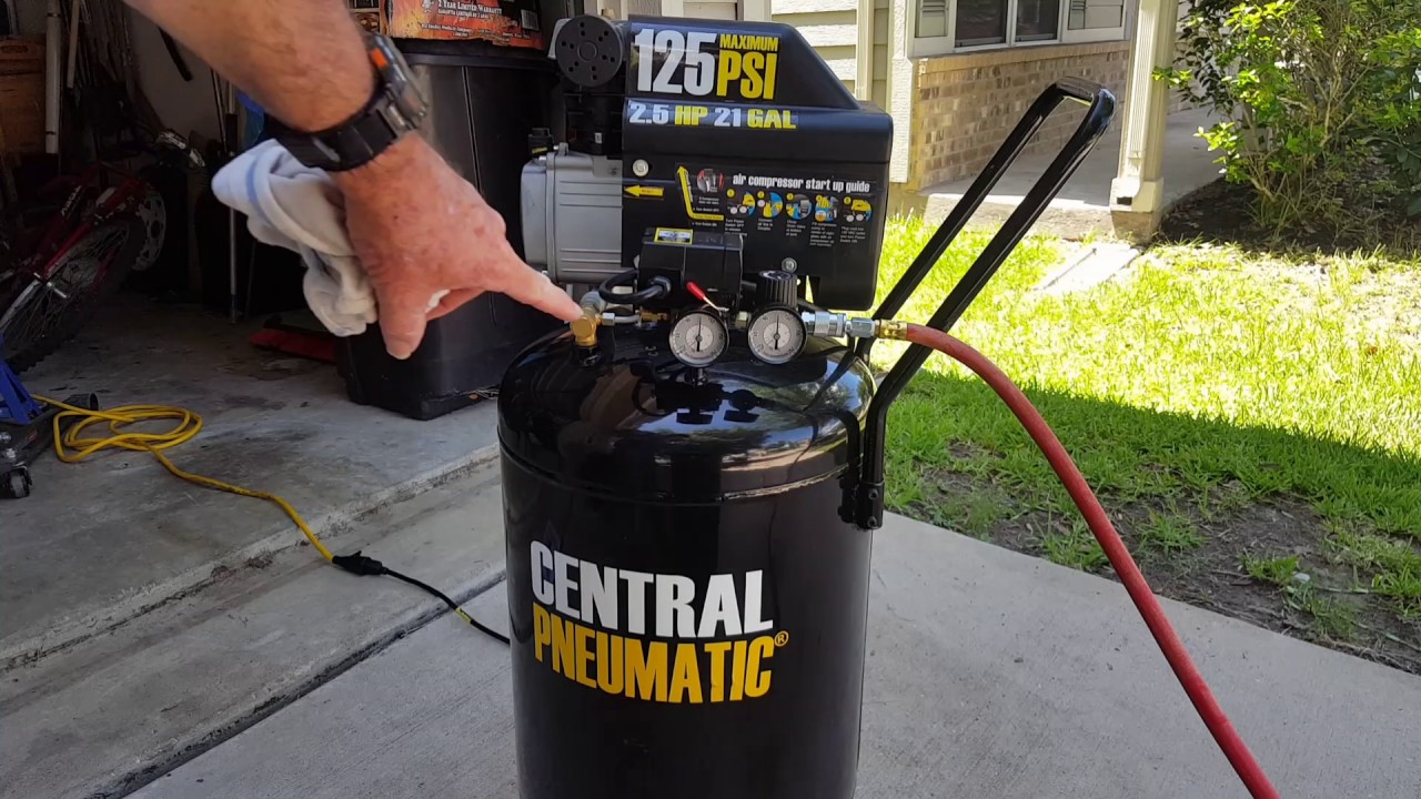 central pneumatic 21 gallon air compressor replacement parts