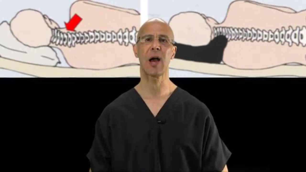 the best type of pillow for sleeping for neck pain pinched nerve herniated disc dr mandell