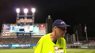 Cleveland Indians Beer Vendor
