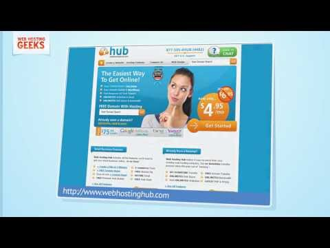 WebHostingHub Video Review
