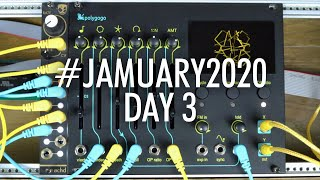 Polygonal Synthesis Experiments with the Polygogo from E-RM // #JAMUARY2020 Day 3