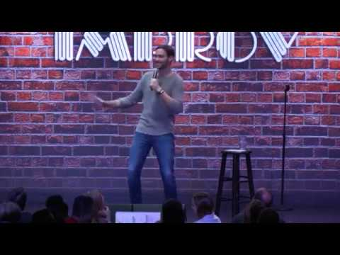 The Penthouse Blog - Comedian Jeff Dye On Stage During A 7.0 Earthquake