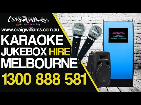 Touch Screen Jukebox Hire - Karaoke Touch Screen Jukebox Hire Melbourne