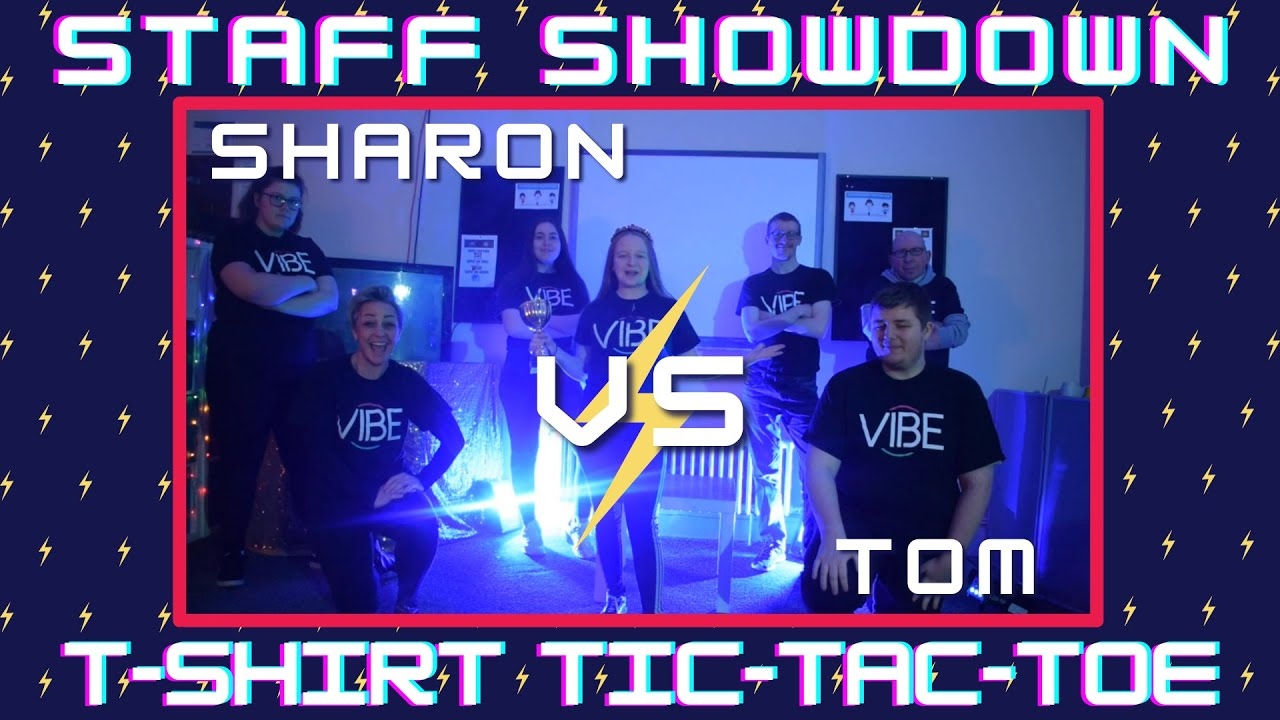 Staff Showdown: Round 1 - T-Shirt Tic-Tac-Toe