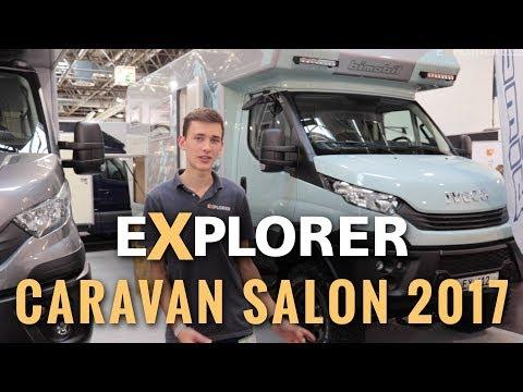 Neuheiten im Allrad-Segment  ■  Caravan Salon 2017