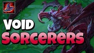 Learning Teamfight Tactics! Void Sorcerer Comp - Newb TFT w Kiyeberries
