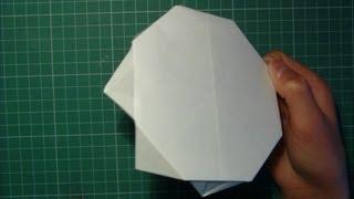 Tutorial Paper Frisbee Origami