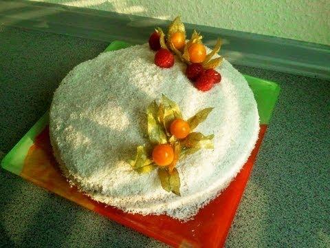 mont-blanc:-créole-coconut-sponge-cake-with-vegan-pastry-cream