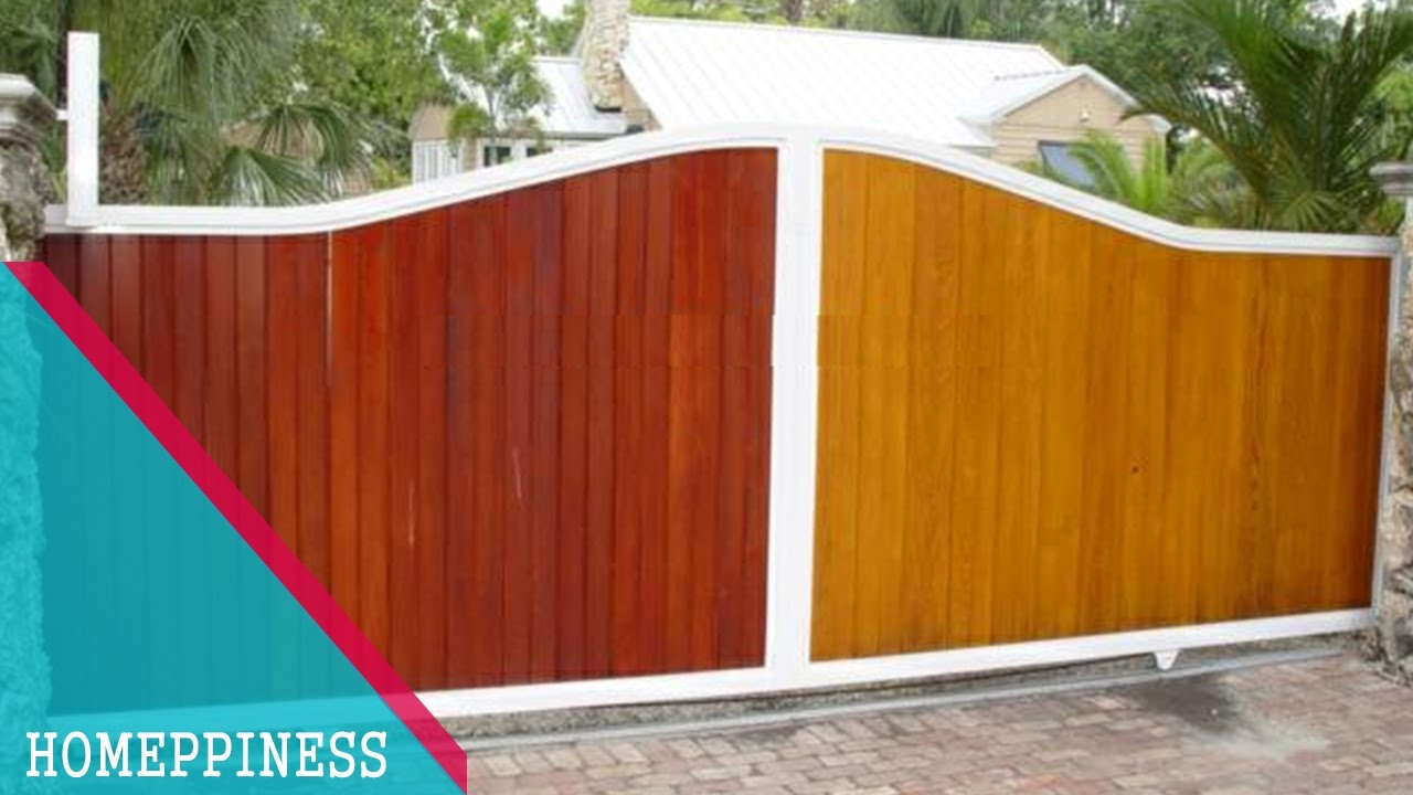 (NEW DESIGN 2017) 25+ Wood Gate Fence Ideas