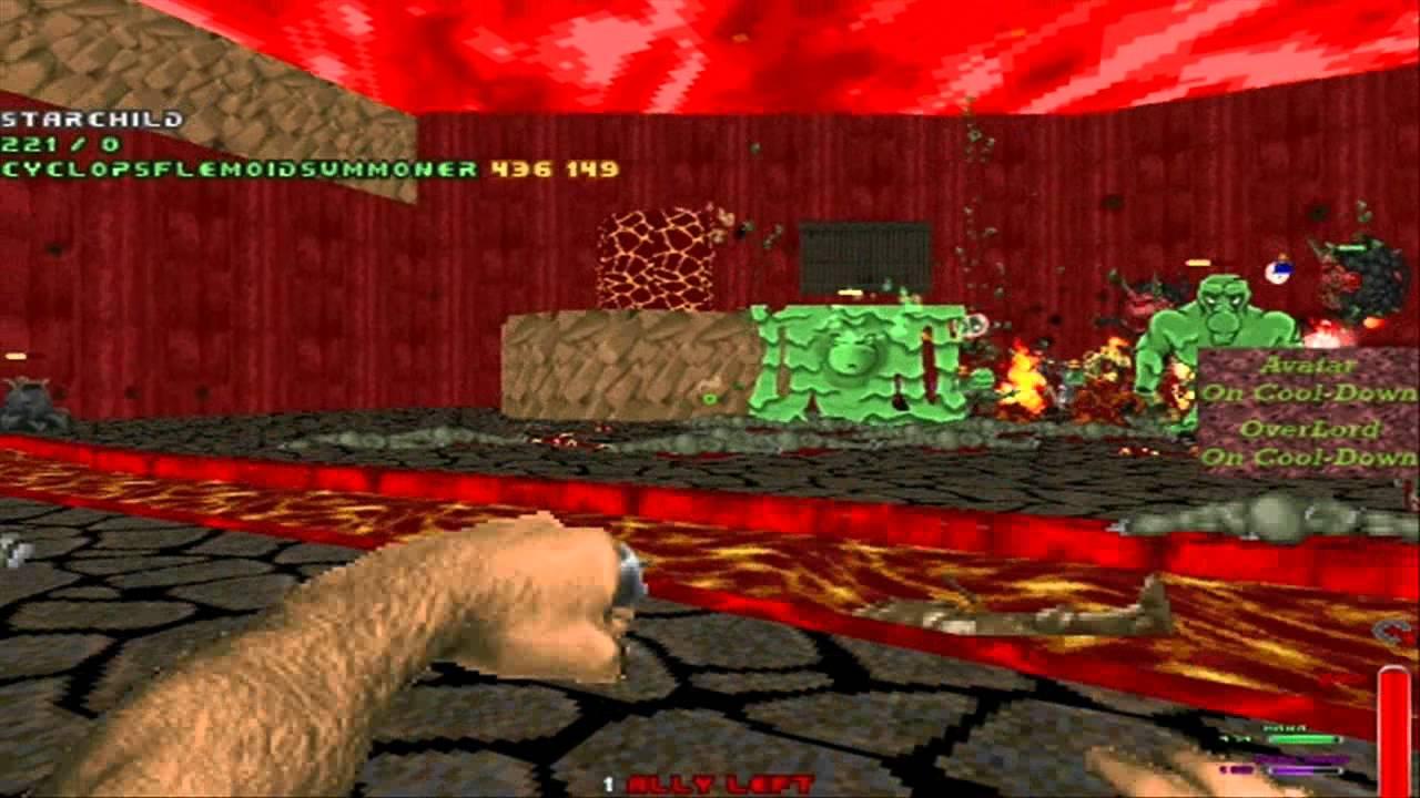 Zdoom Wars mods coop on Boss Battle wad 02 - YouTube