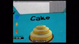 HOW TO BE A ROBLOX CAKE
