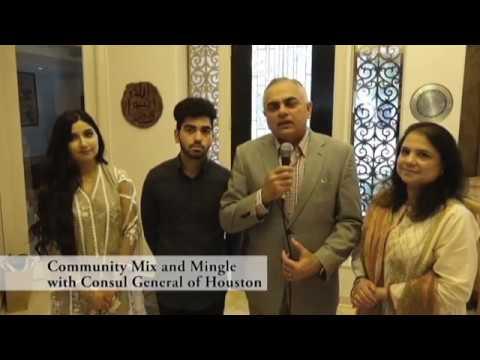 Houston Consul General Mix And Mingle