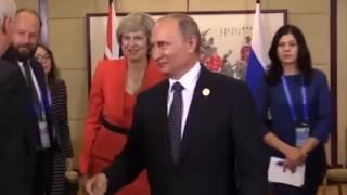 Путин и Тереза Мэй -  как это понимать ?