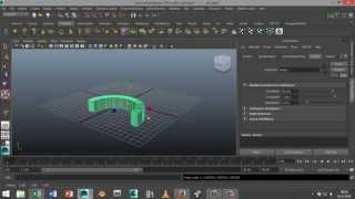 Maya 2014 tutorial :Bending objects in Autodesk Maya
