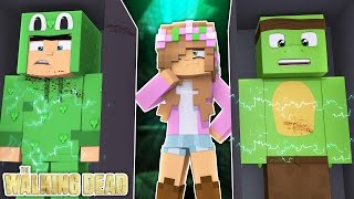 little lizard and tiny turtle are being experimented on minecraft little kelly the walking dead