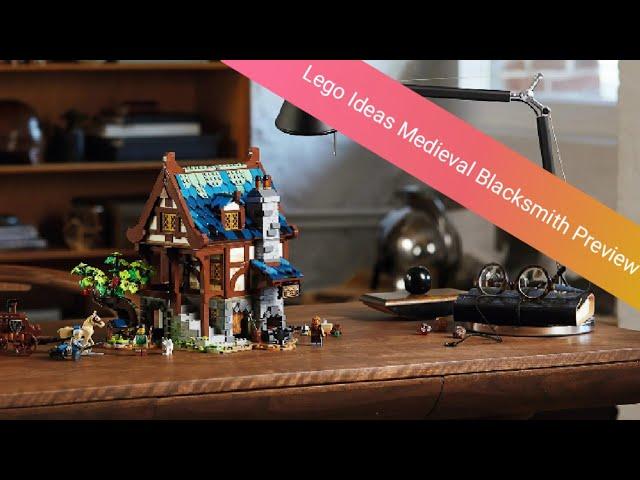 LEGO Castle ist zurück?! Preview zur LEGO Ideas 21325 Mittelalterliche Schmiede
