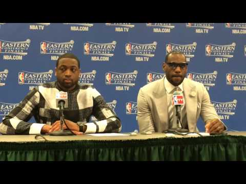 Dwyane Wade says Lance Stephenson 'is a competitor', as he and LeBron James speak after Game 1 loss