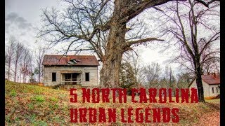 North Carolina Creepy Stories Legends