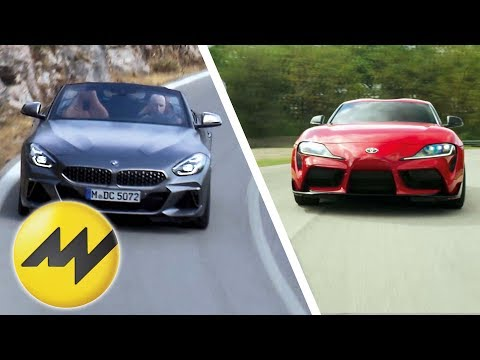 Toyota GR Supra vs. BMW Z4 |Motor News |Motorvision